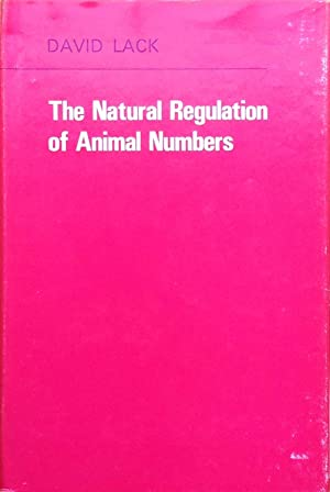 The natural regulation of animal numbers: Lack, D.