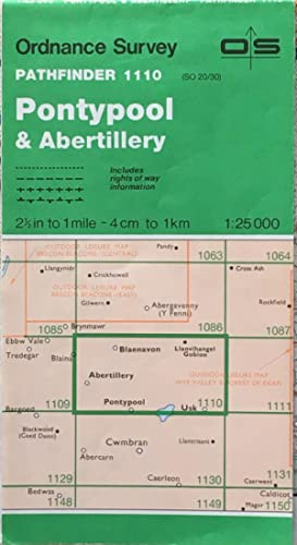 Pathfinder map sheet 1110 (Pontypool & Abertillery)
