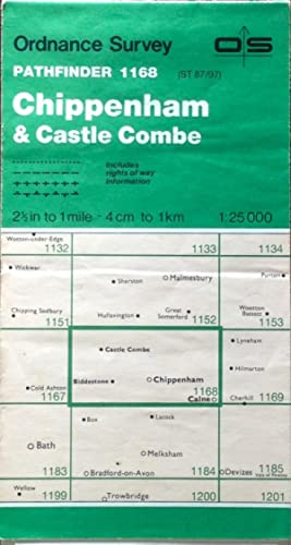 Pathfinder map sheet 1168 (Chippenham & Castle Combe)