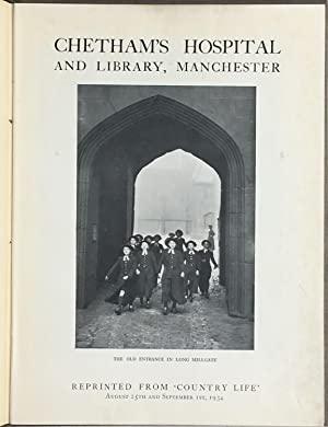 Chetham's hospital and library, Manchester