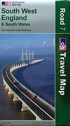 South West England travel map
