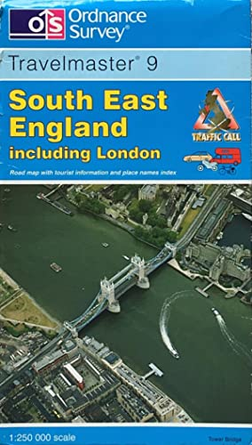 South East England travel map