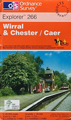 Wirral & Chester / Caer: Explorer sheet 266