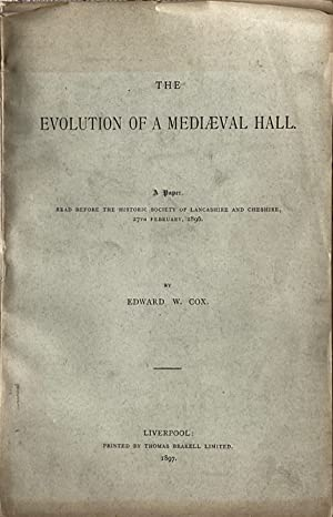 The evolution of a mediaeval hall