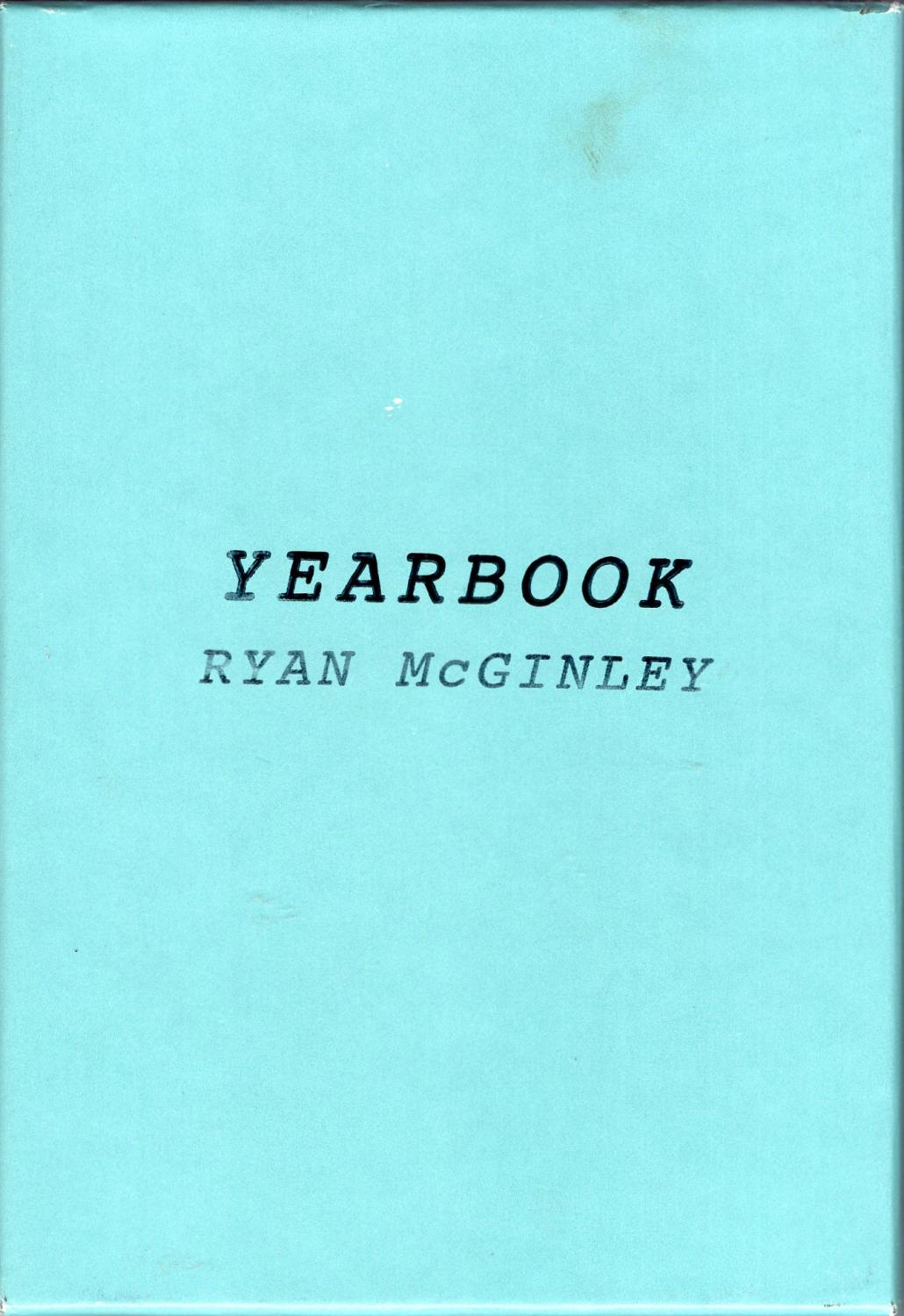 Ryan Mcginley 2002 Index Books First Edition Mint