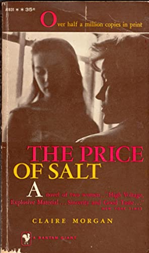 The price of salt: Claire Morgan