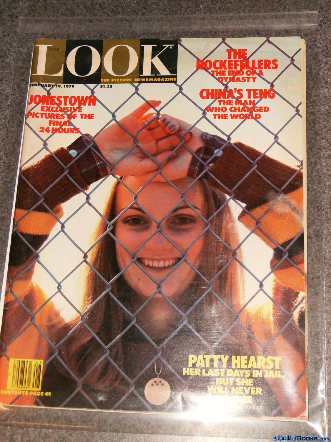 Look February 19, 1979 (Patty Hearst cover, Marilyn Monroe interview, Jonestown) The Picture ...