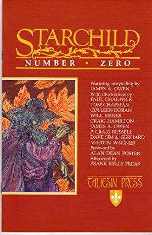 Signed* Starchild Number Zero (#0): James A Owen;