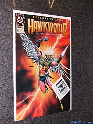 *Bradstreet Signed* Hawkworld Number 32 (Flights End Conclusion)