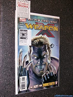*Signed* Weapon X #s 1,2,3,4,5,9,10,12,17,20,22
