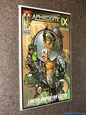 Aphrodite IX #1 Wizard World Chicago 2000 Exclusive Cover +0,1,2,3,4 + Preview Issue