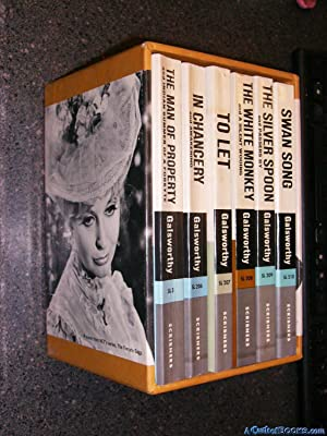 The Forsyte Chronicles (6 Vols Slipcased): The: Galsworthy, John