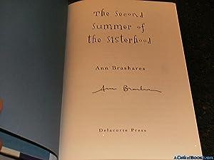 Signed* The Second Summer of the Sisterhood: Brashares, Ann