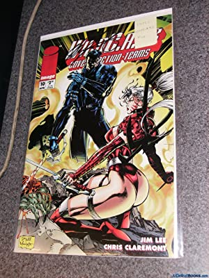 * Claremont Signed* WildC.A.T.S. #10 NM 1994