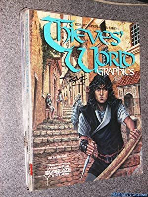 *Tim Sale Signed* Robert Asprin & Lynn Abbey's Thieves' World Graphics (1st)