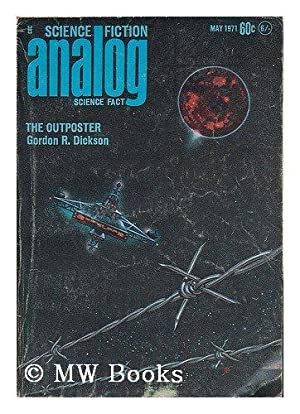 *Freas Signed* Analog: science fact - science fiction; v87, #3, May 1971 The Outposter / Gordon R...