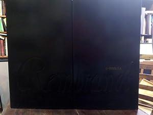 La Biblia de Rembrandt. Obra única e irrepetible, numerada y limitada de 998 ejemplares ...
