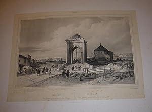 Sevilla. Vista general tomada de la cruz del campo.: CHAPUY, Nicolas.