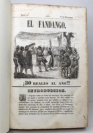 El Fandango (Completo). 24 números.(Revista) Del 15 de diciembre de 1845 al 15 de noviembre ...