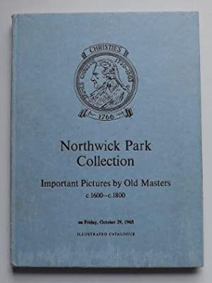 Northwick Park Collection:- Important Pictures by Old: Christie's