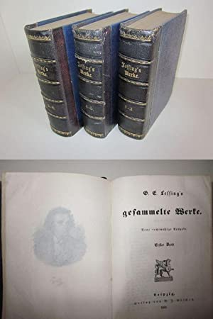 Gesammelte Werke Band 1-8: G. E. Lessing