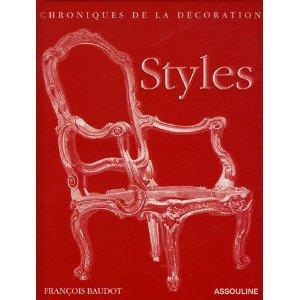 DECORATION (chroniques de la) STYLES - FRANCOIS BAUDOT
