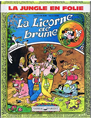La jungle en folie , n° 15 : La licorne de brume