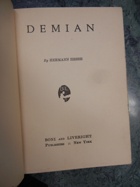 Demian: Hesse, Herman