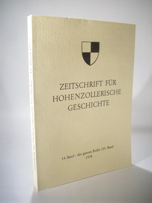 Zeitschrift Fuer Hohenzollerische Geschichte Von