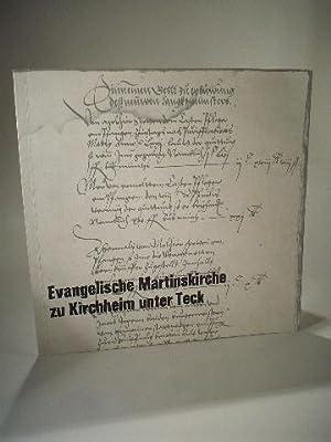Evangelische Martinskirche zu Kirchheim unter Teck.: Schahl, Dr. Adolf