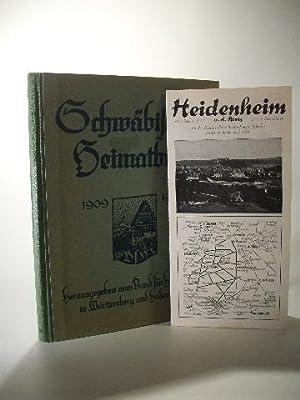 Schwäbisches Heimatbuch 1909 - 1929. Mitgliedsgabe für: Bund für Heimatschutz