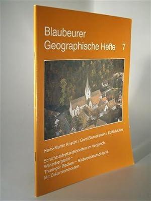 Schichtstufenlandschaften im Vergleich: Weserbergland - Thüringer Becken: Knecht, Hans Martin