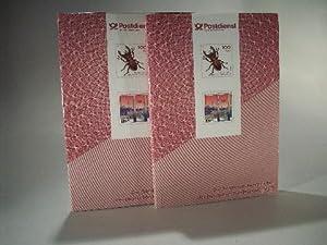 Die Sonderpostwertzeichen der Deutschen Bundespost 1993. Buch im Schuber. Jahrbuch BRD. Postfrisch....