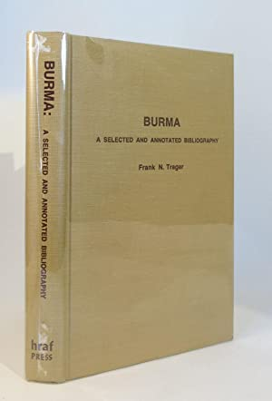 BURMA : A SELECTED AND ANNOTATED BIOGRAPHY