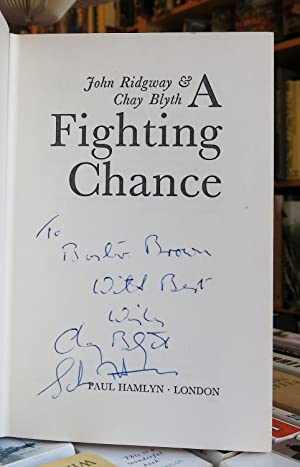 A FIGHTING CHANCE : HOW WE ROWED: RIDGWAY, Captain John