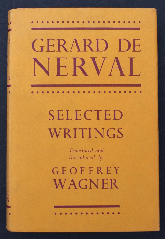 SELECTED WRITINGS OF GERARD DE NERVAL DE NERVAL, Gerard [ ] [Hardcover] (bi_22902893770) photo