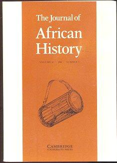 The Journal of African History (Volume 41, Numbers 2 and 3, 2000)