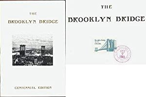 The Brooklyn Bridge: Centennial Edition 1983 (Facsimile Article from Harpers Magazine, 1883 with ...