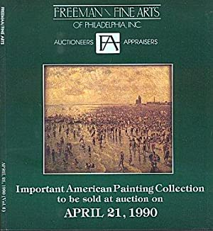 Important American Painting Collection to be Sold at Auction on April 21, 1990 - Sale No. 237, Vo...