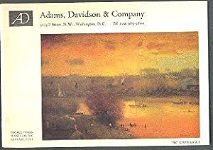 Adams, Davidson & Company 1967 Catalogue