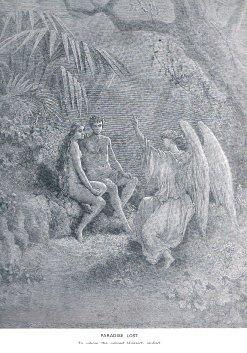Literary Prints: Paradise Lost by John Milton