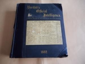 Burdett's Official Intelligence for 1882,Being a Carefully: Henry C.Burdett
