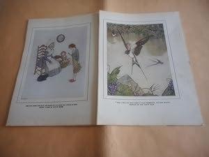 15 Loose Colour prints from Hans Andersen's: Hans Andersen