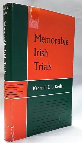 Memorable Irish Trials.: DEALE, Kenneth E.