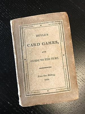 Hoyle's Card Games, Complete; With An appendix,: HOYLE. [Edmund]