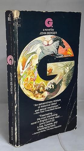 G. A Novel by John Berger.: BERGER, John.