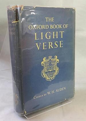 The Oxford Book of Light Verse.: AUDEN, W. H.