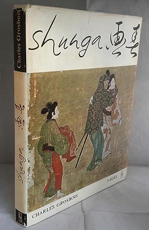 Shunga. Images of Spring. Essay on Erotic: GROSBOIS, Charles.