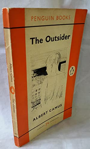 The Outsider. Translated by Stuart Gilbert. With: CAMUS, Albert.