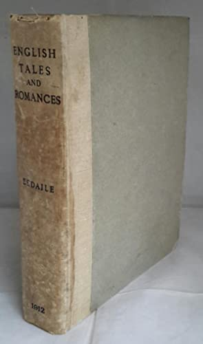 English Tales and Romances. A List of English Tales and Prose Romances Printed Before 1740.
